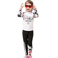 Đồ bơi bé gái áo dài quần dài 3-11 tuổi Bg1902