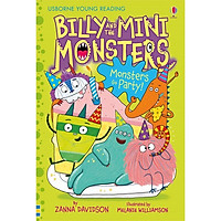 Usborne Billy and the Mini Monsters Monsters Go Party!