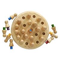 Bộ Trò Chơi Trí Tuệ Memory Game Woody - Đỏ