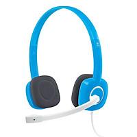 100% original Tai nghe có dây H150 của Logitech Gaming Stereo Tai nghe 3,5 mm kép có MIC cho Máy tính để bàn