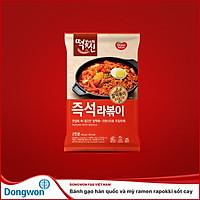 Bánh Gạo Hàn Quốc Và Mì Ramen Rabokki Sốt Cay
