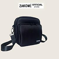 Túi đeo chéo 2 ngăn Zakomi thời trang phong cách Hàn Quốc, túi Unisex cho nam và nữ đi chơi, đi tiệc F_TDC_VUONG