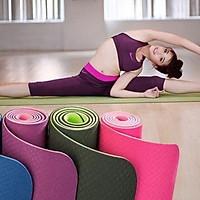 Thảm tập yoga loại dày 7 li kèm túi