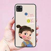 Ốp lưng điện thoại dành cho Realme C12 Hình Baby Girl