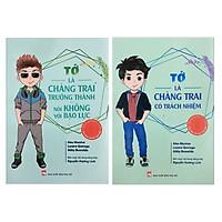Combo 2 Cuốn Sách Kỹ Năng Sống Dành Cho Tuổi Teen: Tớ Là Chàng Trai Trưởng Thành Nói Không Với Bạo Lực + Tớ là Chàng Trai Có Trách Nhiệm (Tặng Kèm Bookmark Happy Life)