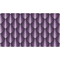 Giấy dán tường Hàn Quốc phong cách hiện đại ,họa tiết 3D màu tím - 88121-1
