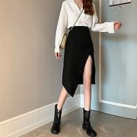 Chân váy dài Midi Ulzzang Quảng Châu VVD19