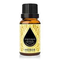 Tinh Dầu Sả Chanh Lemongrass Essential Oil Heber | 100% Thiên Nhiên Nguyên Chất Cao Cấp