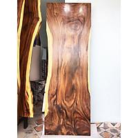 Mặt bàn gỗ me tây nguyên tấm tự nhiên KT 4.5x79x230cm