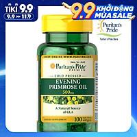 Thực phẩm chức năng bảo vệ sức khỏe dầu hoa anh thảo Evening Primrose Oil 500mg with GLA