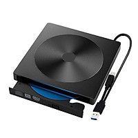 External DVD Drive USB 3.0 Portable CD/DVD+/-RW Drive/DVD Player For Laptop CD ROM Burner Compatible USB CD Drive Home Audio