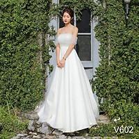 Đầm maxi mặc cưới được 5 kiểu trong 1 sét váy TRIPBLE T DRESS - size M/L -MS6Y