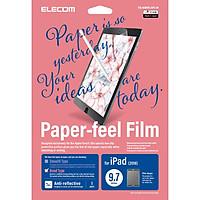 Miếng dán màn hình cho Ipad 9.7 inches Elecom Paper- Feel TB-A18RFLAPL-W - Hàng chính hãng