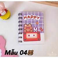 Sổ Tay Lò Xo Mini Siêu Cute Hot Trend 2021