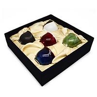 Bộ hộp 05 cốc Sake phong thủy Ngũ hành  Đông Gia -5 màu