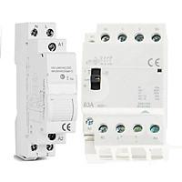 Combo Khởi Động Từ Wifi Bật Tắt Thiết Bị 3 Pha 63A Điều Khiển Qua Ứng Dụng Tuya SHP-CB3B