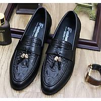 Giày Da nam cực chất xả kho giá gốc- giày lười nam-mã l184