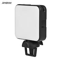 Đèn led trợ sáng chụp ảnh Andoer W64 mini 2500K-6500K với 3 chế độ có thể điều chỉnh độ sáng