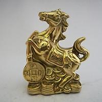 Ngựa nhỏ bằng đồng 12cm