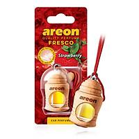 Tinh dầu treo xe ô tô Areon Fresco Strawberry - (Hương dâu tây)
