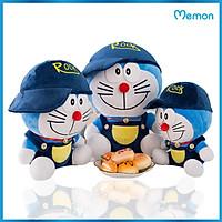Gấu Bông Doremon Đội Mũ Cao Cấp - Hàng Chính Hãng Memon - Đồ Chơi Thú Nhồi Bông Doraemon Đội Mũ, Bông Gòn PP 3D Tinh Khiết, Mềm Mịn, Đàn Hồi Đa Chiều, Bền Đẹp, An Toàn Cho Người Sử Dụng