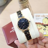 Đồng hồ nữ SUNRISE 9992SB, Vành Đá sang trọng,full hộp thẻ chính hãng, Kính Sapphire
