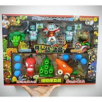 Bộ đồ chơi phụ kiện phiên bản cỡ đại nhiều sắc màu cho trò chơi hoa quả nổi giận plants vs zombies (nhiều mẫu giao ngẫu nhiên)