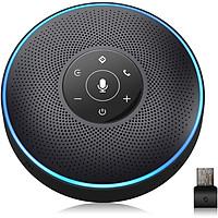 Loa Hội Nghị Emeet M2 - Tích Hợp Bluetooth, 4 Micro Công Nghệ VoiceIA, Họp Trực Tuyến 8 Người - Hàng Chính Hãng