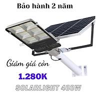 Đèn đường năng lượng mặt trời solarlight 400w giá rẻ