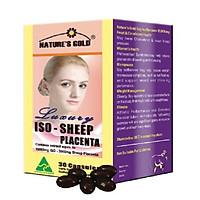 Viên Uống Cân Bằng Nội Tiết Tố Nữ Nature's Gold Iso - Iso Sheep Placenta