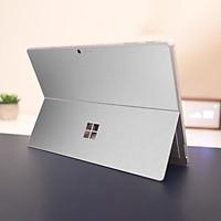 Skin dán hình Aluminum Chrome bạc mịn cho Surface Go, Pro 2, Pro 3, Pro 4, Pro 5, Pro 6, Pro 7, Pro X