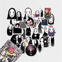 No Face Spirited Away - Set 30 sticker hình dán