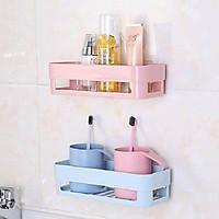 Combo 2 kệ treo tường nhà bếp, nhà tắm tiện dụng - màu ngẫu nhiên
