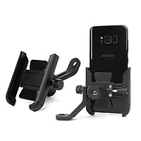 Giá đỡ kẹp điện thoại cho xe máy/ xe mô tô Selfiecom S-500 - Siêu cứng, chống trộm, chống rung lắc, tháo lắp dễ dàng - Hàng chính hãng