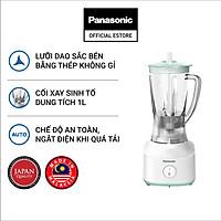 Máy Xay Sinh Tố Panasonic MX-M100GRA - Công suất 450W mạnh mẽ, tiết kiệm điện - Cối 1L nhựa cao cấp - Hàng Chính Hãng