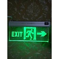 Đèn Exit mica 1 mặt chỉ hướng CSC06-05