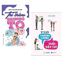 combo 2 cuốn: Thì Thầm Chuyện Nhỏ Chuyện To (Từ Tình Yêu Đến Tình Dục) + Bí Quyết Thương Lượng Tuổi Dậy Thì
