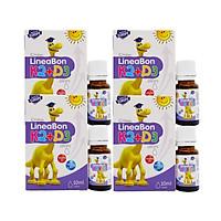 Combo 4 hộp Vitamin LineaBon K2 + D3 hỗ trợ chống còi xương, tăng chiều cao cho trẻ sơ sinh và trẻ nhỏ
