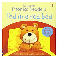 Ted In A Red Bed: Phonics Readers
