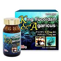 viên uống King Fucoidan Agaricus - Hỗ trợ ngăn ngừa bệnh ung thư (Hộp 120 viên)