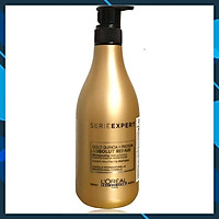 Dầu gội phục hồi tóc L'oreal Serie Expert Gold Quinoa + Protein Absolut Repair Instant resurfacing shampoo 500ml