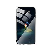 Ốp Lưng Kính Cường Lực cho điện thoại Samsung Galaxy J7 Prime - Little Girl 03