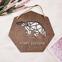 Bảng gỗ trang trí handmade 015