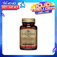 NHẬP KHẨU USA CHÍNH HÃNG - Viên uống tăng cường sức khỏe, giảm căng thẳng mệt mỏi Solgar B-Complex-50