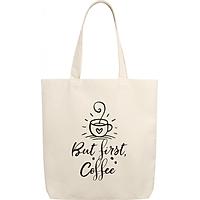 Túi Vải Canvas - But First Coffee