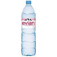 Nước Khoáng Thiên Nhiên Không Ga Hiệu Evian 150Cl