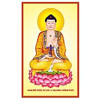 Decal Phật Dược Sư nhiều kích thước VTC PhatDuocSu_005
