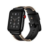 Dây đeo JINYA Style Leather cho Apple Watch - Hàng Chính Hãng