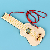 Đồ Chơi Stem – Bộ Lắp Ghép Bằng Gỗ Đàn Guitar Theo Phương Pháp Giáo Dục Stem Steam.