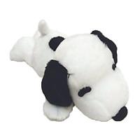 Gấu bông Snoopy có nơ xanh dương - dáng nằm - 68cm
